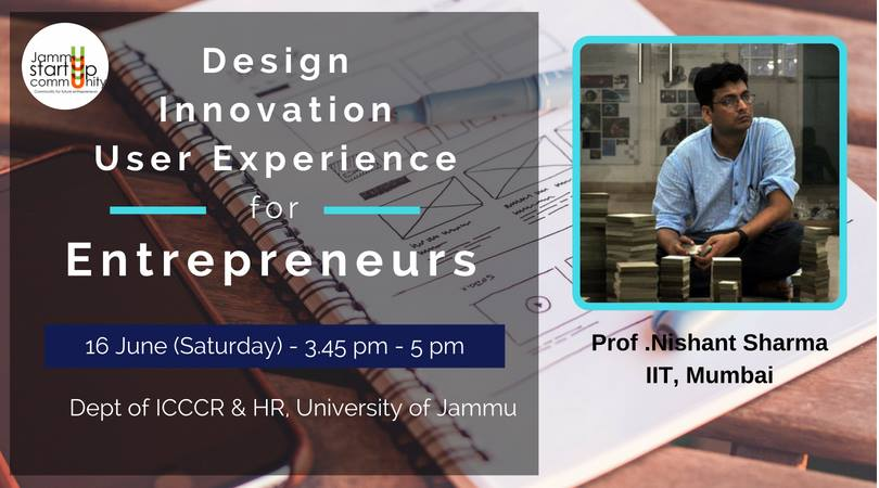 Design, Innovation & User Experience for Entrepreneurs