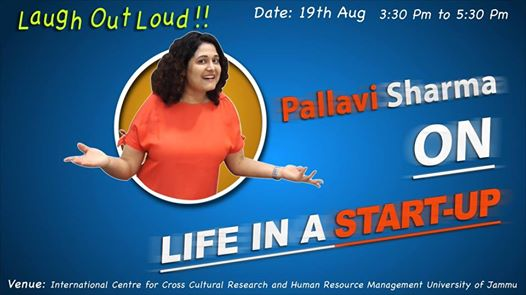 Stand Up Startup Comedy on Start-ups by Pallavi